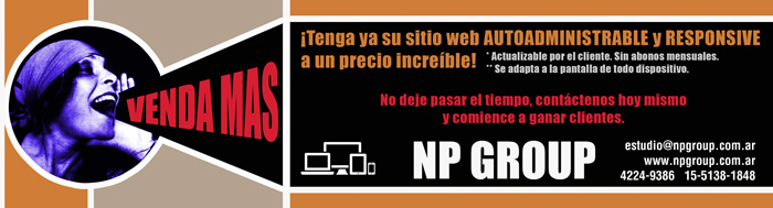 NP GROUP: DISEÑO WEB, GRAFICO, MARKETING ¡CREAMOS COMUNICACIÓN!